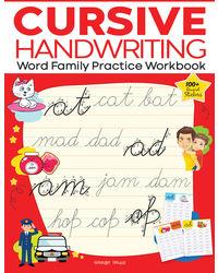 Cursive Handwriting Word Family