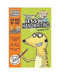 Let's Do Handwriting: 9- 10