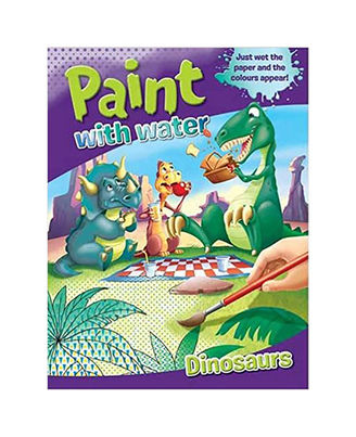 Paint With Water Dinosaurs