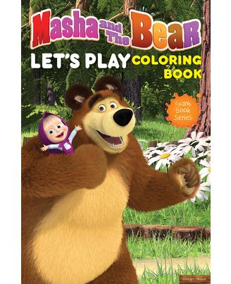 Masha And The Bear- Let s Play Coloring Book