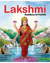 Lakshmi Goddess Of Wealth: Large Print