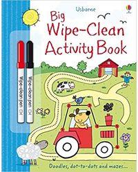 Big Wipe- Clean Activity Book
