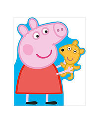 Peppa Pig: All About Peppa- A Peppa- Shaped Board Book