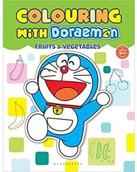 Colouring With Doraemon Fruits & Vegetables