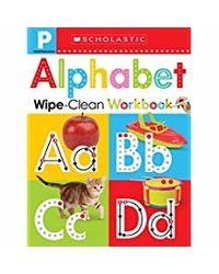 Scholastic Early Learners Wipe Clean Workbooks: Pre- K: Alphabet