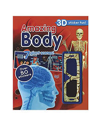 Amazing Body (With 3D Glasses) : 3D Sticker Fun