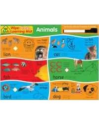 Wipe clean learning: animals