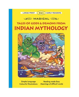 Magical Tales Of Gods & Demons From Indian Mythology (Early Readers)
