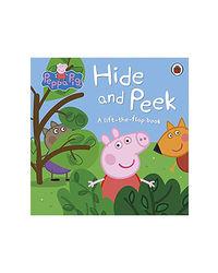 Peppa Pig- Hide And Peek: A Lift- The- Flap Book