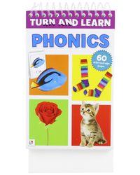 Turn And Learn Flip Pad: Phonics