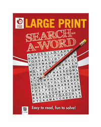 Large Print Search Word(Red)