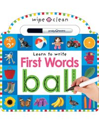 Wipe Clean: First Words