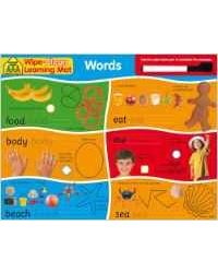 Wipe Clean Leaning Mats: Words