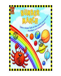 Number March- See Fixed Sets Of Numbers Around You, Develop Pre- Maths Skills, Picture Book With Gk
