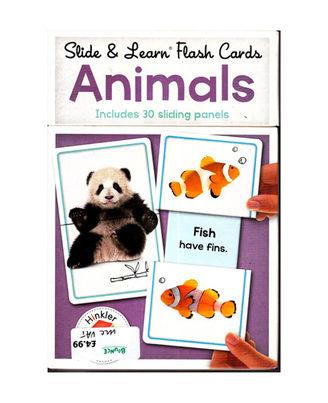 Slide & Learn Flashcards Animals