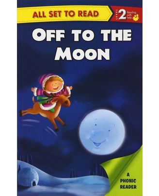 All Set To Read A Phonics Reader Off To The Moon