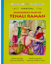 Magical Humorous Tales Of Tenali Raman (6 In 1)