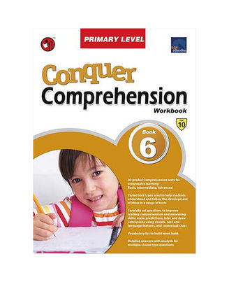Sap Conquer Comprehension Workbook Primary Level 6