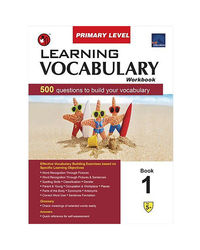 Sap Learning Vocabulary Workbook Primary Level 1