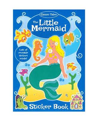 The Little Mermaid Sticker Book
