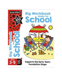 Big Workbook Ready For School Ages 3- 5 Early Years