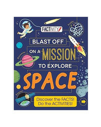 Factivity Blast Off On A Mission To Explore Space (Factivity Bumper)