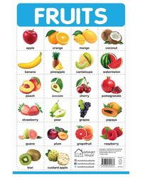 My First Early Learning Educational poster: Fruits