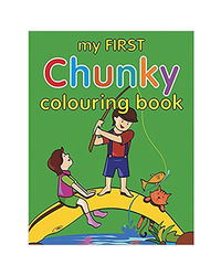 My First Chunky Coloring Book