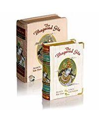 The Bhagavad Gita Book, Pocket Edition A7, Original Sanskrit Verses With English Transliteration Plus Translation In English & Hindi