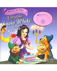Record And Play Fairy Tale Sound Book Snow White