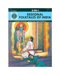 Regional Folktales Of India: 5 In 1