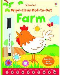 Wipe- Clean Dot- To- Dot Farm