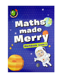 Maths Made Merry Workbook Grade- 4