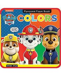 Pawsome Foam Books- Colors: Paw Patrol