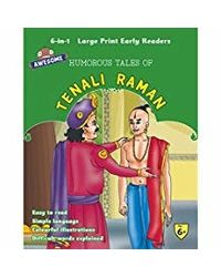 Awesome Humorous Tales Of Tenali Raman (6 In 1) (Early Readers)