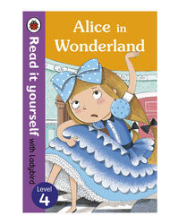 Alice In Wonderland: Read It Yourself With Ladybird (Level4)