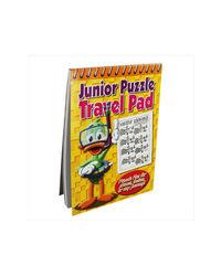 Junior Puzzle Travel Pad Blue