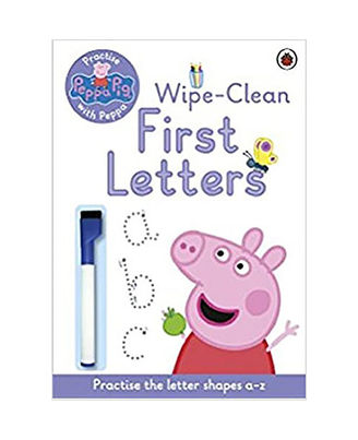 Peppa Pig: Wipe- Clean First Letters