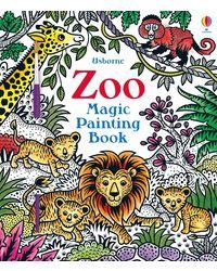 Zoo Magic Painting Book