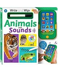 Write & Wipe: Animals With Sounds