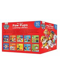 My First Paw Pups Learning Library (10 Books)