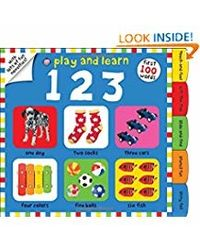 Play and Learn 123: First 100 Words, with Novelties on Every Page