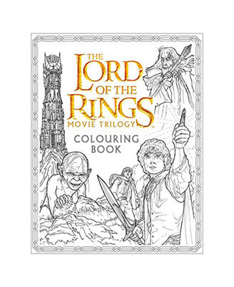 The Lord Of The Rings Movie Trilogy- Colouring Book (Colouring Books)