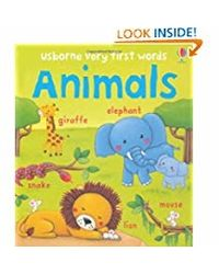 Very First Words In Animals