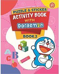 Puzzle & Sticker With Doraemon Activity Book 2