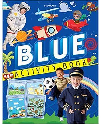 Blue Activity Book