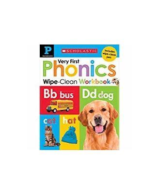 Wipe Clean Workbook: Pre- K My Very First Phonics (Scholastic Early Learners) (Scholastic Early Learners