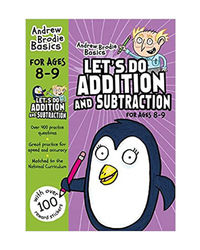 Let's Do Addition And Subtraction 8- 9 (Andrew Brodie Basics)