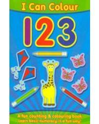 I can colour 1 2 3