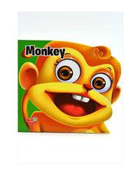 Monkey: Mini Bus Cut- Out Board Books